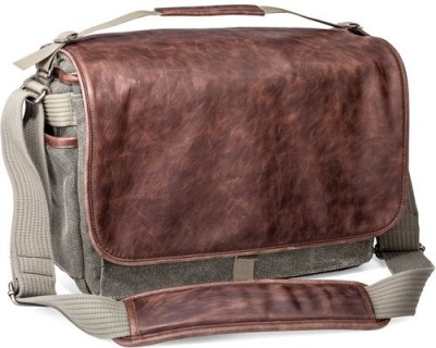 Think Tank Retrospective Leather 30  Camera Bag Grey With Brown Leather
