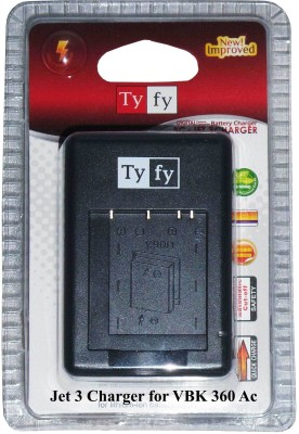Tyfy Vbk 360 Ac  Camera Battery Charger(Black) 1