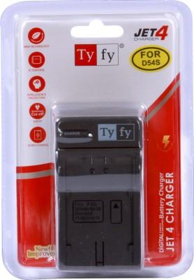 Tyfy D54S Jet 4 Camera Battery Charger(Black) 1