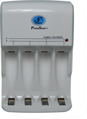 Power Smart Fast Charging Unit PS345 With Auto cut Technology and LED Indicator Camera Battery Charger