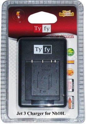 Tyfy Nb10l Camera Battery Charger(Black) 1
