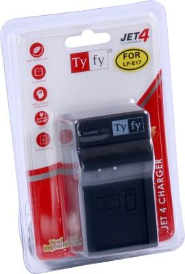 Tyfy LP E17 Jet 4  Camera Battery Charger Black