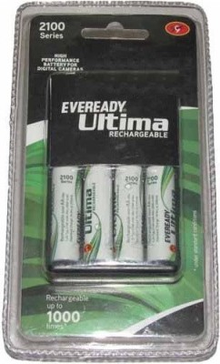 Eveready 2100 Series With 4AAx2100mAh  Camera Battery Charger(Black)  available at flipkart for Rs.1200
