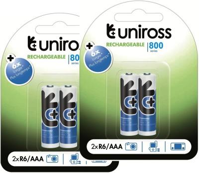 Uniross BP4 NIMH800AAA Camera Battery Charger Blue Uniross Battery chargers