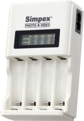SIMPEX 333  Camera Battery Charger(White) 1