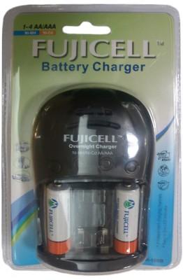 Fujicell FUJI-108B (With 2 Ni-MH AA 2100 Batteries) Camera Battery Charger 1