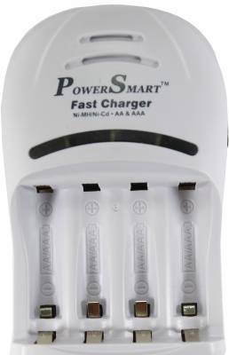 Power-Smart-Fast-Battery-Charger-(for-Ni-MH-AA/AAA-Rechargeable-Batteries)