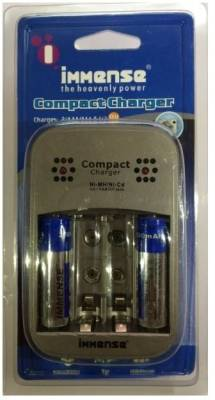 Immense-IP-1403-(With-2AA-Battery)-Compact-Battery-Charger