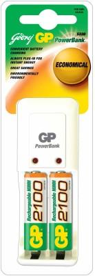 Godrej-GP-Powerbank-PB-3302-ROHS-(with-2-Pcs-GP-2100-mAh-AA-Batteries)-Battery-Charger