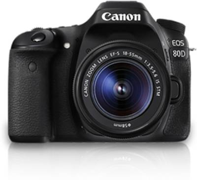 Canon EOS 80D DSLR (with 18 - 55mm IS STM Lens) Image