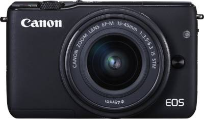 Canon EOS M10 (with EF-M15-45 mm f/3.5 - 6.3 IS STM) Mirrorless Camera Image
