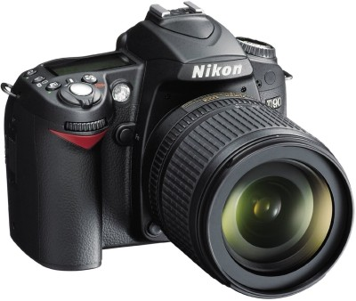 Nikon-D90-SLR-with-AF-S-18-105mm-VR-Kit-Lens