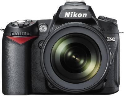Nikon D90 SLR with AF-S 18-105mm VR Kit Lens Image