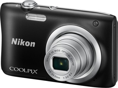 Nikon Coolpix A100 Point & Shoot Camera(Black)