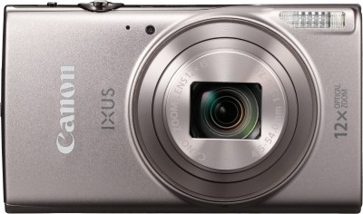 Canon IXUS 185 Point and Shoot Camera(20 MP, 8x Optical Zoom, 8x Digital Zoom, Silver)