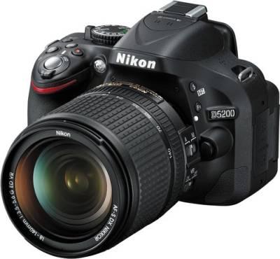 Nikon D5200 DSLR with AF-S 18-140mm VR Kit lens Image