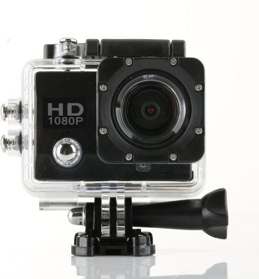 Wonder World ™ Sports Action Cam Holder Sports & Action Camera(Black) at flipkart