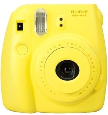 Fujifilm Instax Mini 8 Instant Camera(Yellow)