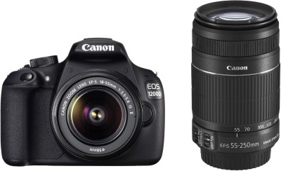 Canon-EOS-1200D-SLR-With-Double-Lens-Kit-EF-S18-55mm-IS-II-+-55-250mm-IS-II