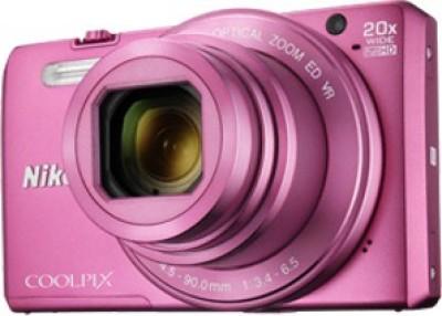 Nikon Coolpix S7000 Point & Shoot Camera(Pink) 1