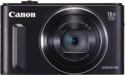 Canon SX610 HS Point & Shoot Camera(Black) 1
