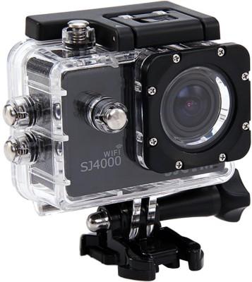 SJCAM Sjcam4000Wifi_0001 Sjcamsj4000Wifiblack Sports & Action Camera(Black)