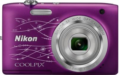 Nikon S2800 Point & Shoot Camera(Violet) 1