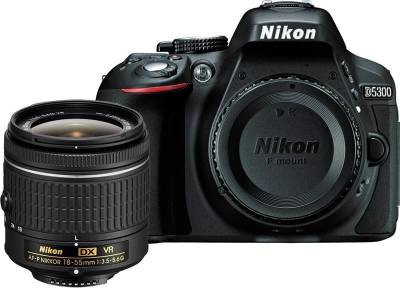 Nikon D5300 DSLR from ₹32,990 (32GB SD Card @ ₹1)