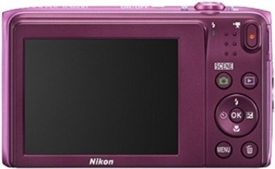 Nikon S3600 Point & Shoot Camera(Pink) 1