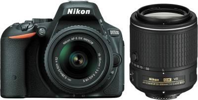 Nikon D5500 (with AF-S 18-55 VRII + 55-200 VR II Kit Lens) DSLR Image