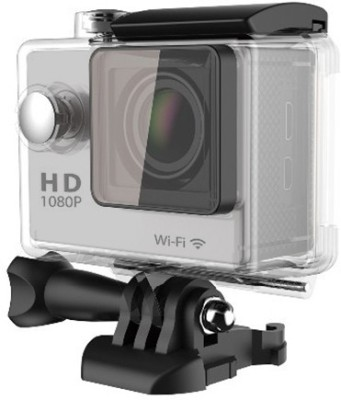 Gadget Hero's GHXSC786S Body Only Sports & Action Camera(Silver) 1