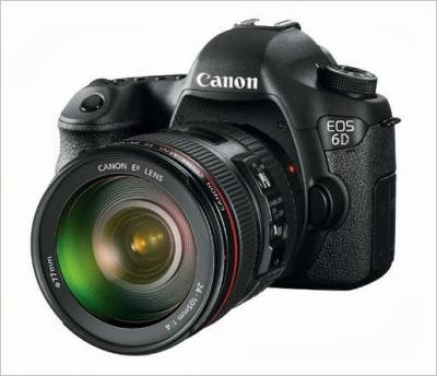Canon EOS 6D Kit (24-105mm) DSLR Image