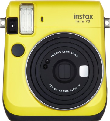 Fujifilm Instax Mini 70 Instant Camera (Yellow)(Yellow)
