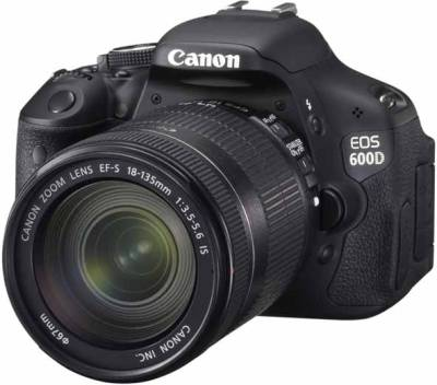 Canon EOS 600D (Body with EF-S 18-135 mm IS II Lens) (Body only) DSLR Camera
