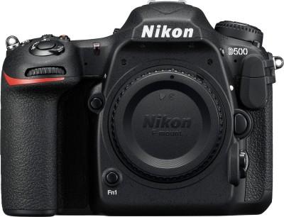 Nikon D5600 DSLR Camera Body with Single Lens: AF-P DX Nikkor 18-55 MM F/3.5-5.6G VR (16 GB SD Card)(Black)