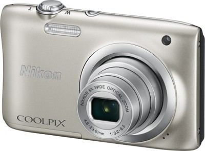 Nikon Coolpix A100 Point & Shoot Camera(Silver)