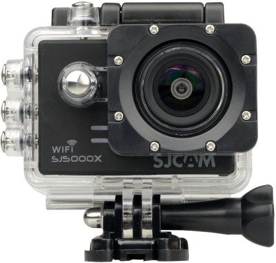 Mobilegear Gyro Anti-Shake 4K HD Waterproof Digital Camcorder With Accessories SJCAM sj5000 X Elite Sports & Action Camera(Black) at flipkart
