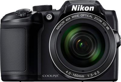 Nikon Coolpix A10 Point & Shoot Camera(Black)
