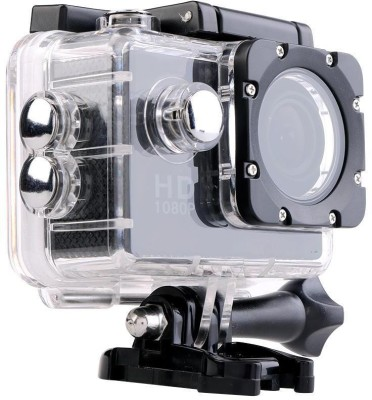 View VibeX ® Mini Ultra HD 1080P DV Sports Recorder Action Camcorder Waterproof Cam Holder Sports & Action Camera(Black) Price Online(VibeX)