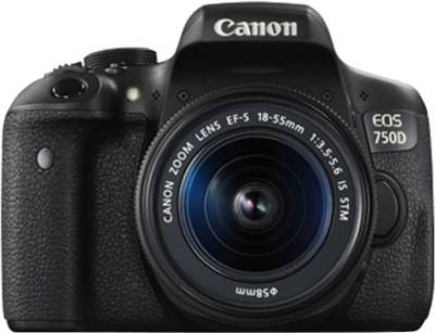 Canon EOS 750D DSLR Camera (with 18-55 STM Lens) Image