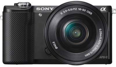 Sony Alpha a5000 (ILCE-5000L) Mirrorless (with 16-50mm Zoom Lens) Image
