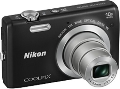 Nikon S6700 Point & Shoot Camera(Black)
