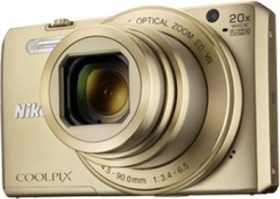 Nikon Coolpix S7000 Point & Shoot Camera(Gold) 1
