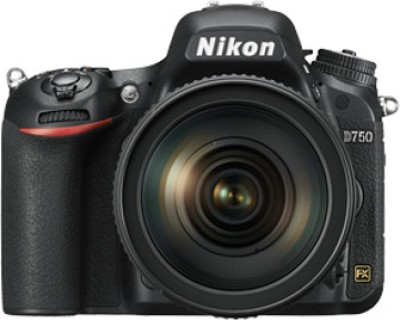 Nikon D750 DSLR with 24-120mm VR Lens Kit