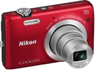 Nikon S6700 Point & Shoot Camera(Red) 1