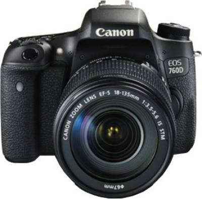 Canon EOS 760D DSLR Camera (With 18-135 IS STM Lens) Image