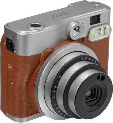 Fujifilm Instax Mini 90 Neo Instant Camera Brown Fujifilm Instant Cameras