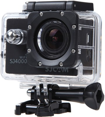 View Mobile Gear SJCAM SJ4000 12 MP WiFi 1080P Full HD Waterproof Digital Action Camera & Sports Camcorder With Accessories Body only Sports & Action Camera(Black) Price Online(Mobilegear)