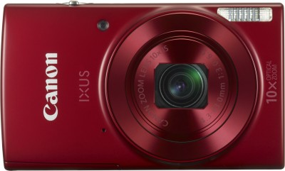 Canon IXUS 180 Point & Shoot Camera(Red)