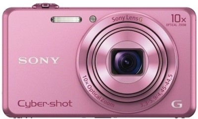 Sony DSC-WX220 Point & Shoot Camera(Pink) at flipkart